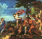 Titian Bacchus and Ariadne oil painting